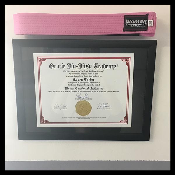 Women Empowered Instructor Certificate